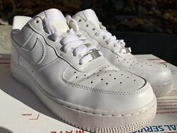 Nike Air Force One 1 Men's Shoes Size 10 Af-1 Triple White 315122-111