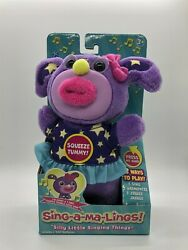 Sing-a-ma-lings Darcy Singing Plush Toy I Sing Twinkle Twinkle Little Star