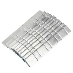 10pcs Universal Strip Stick On Wheel Balance Weights For Car Truck Motorcycle