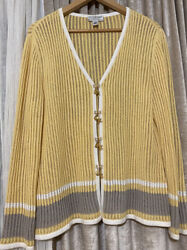 St John Sport By Marie Gray Sweather Size Large