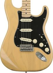Fender Deluxe Stratocaster Electric Guitar Maple Vintage Blonde Mexican Strat