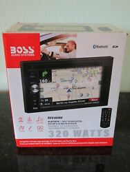 Boss Audio Bv9384nv Gps/navigation Double Din Car Stereo Receiver - New In Box