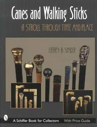 Antique Canes And Vintage Walking Sticks Collector Reference W Carved Figural More