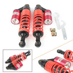 320mm 12.5 Rear Air Shock Absorbers Round Adjustable For Honda Yamaha Tb