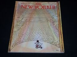 1983 March 14 The New Yorker Magazine - Nice Illustrated Cover - L 4731