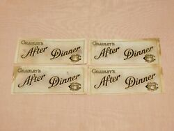 Vintage Tobacco 4 Cigar Box Labels Wrappers Grauleyand039s After Dinner