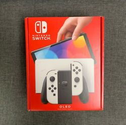 Nintendo Switch Oled Model W/ White Joy-con In Hand Ready To Ship