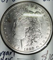 Us Silver Coin Lot 1889-o With 1964 Jfk