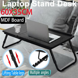 Laptop Stand Desk Lap Bed Table Tray Sofa Computer Portable Foldable