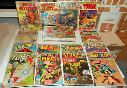 36x Huge Silver + Bronze-age Comics Collection Lot 1959-76 House Clearance
