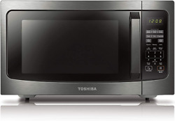 Toshiba Ml-em45pbs Countertop Microwave Oven With Smart Sensor, Sound On/off F