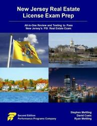 New Jersey Real Estate License Exam Prep All-in-one Review And Testing To Pa...