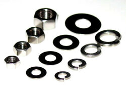 Stainless Nuts Locks Flat Washers 1/4-20 5/16-18 3/8-16 1/2-13 220+p