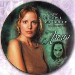 Buffy The Vampire Slayer Limited Numbered Anya Collectors China Plate New Boxed
