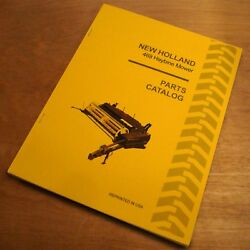 New Holland 469 Mower Haybine Conditioner Parts Catalog Book List Manual Nh