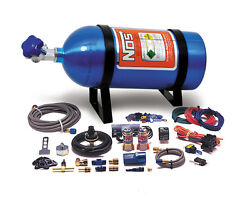Nos Dry System Stage I 75hp W/ 10lb Bottle - 1986-91 Mustang 5.0l 05115nos