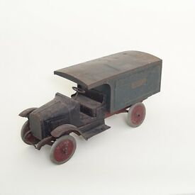 antique express line pressed steel moving