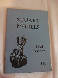 catalogue of models 1972