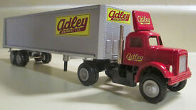 custom adley express white 9000 cab tractor
