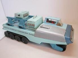 vintage 1960 s arctic missile tracking car