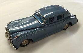 1961 rolls royce yonezawa japan tin toy