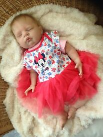 realistic reborn baby lilly from donna