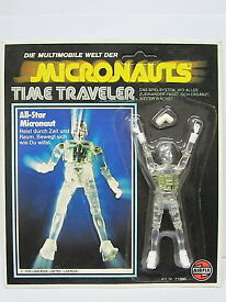 airfix mego time travel clear version moc