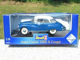 revell 1 18 1000 s coupe blue white top like