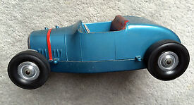 vintage all american hot rod tether car
