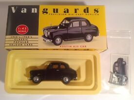 vanguards va23003 austin a35 black
