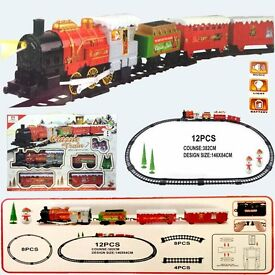 ex large holiday express christmas track set