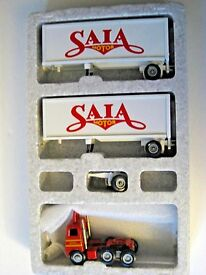 saia freight doubles 87 model truck 1 64th