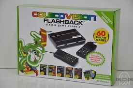cbs coleco vision flashback console 60 games