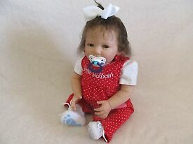 reborn toddler girl sweetest lifelike baby