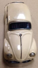 volkswagen beetle vw tin w lighted engine