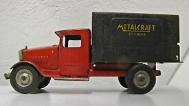 rare vintage corp st louis delivery truck vg