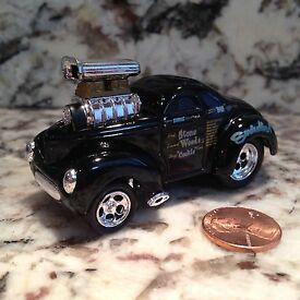 41 willys coupe die cast car 1 64 scale 1941