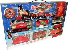 eztec 37260 g scale north pole express