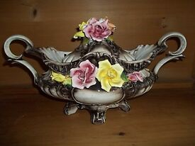 capodimonte footed covered tureen