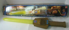 orig he man powersword with original box