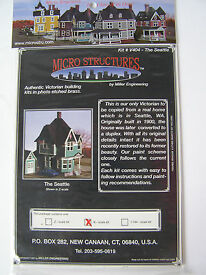 the seattle victorian house photo etched