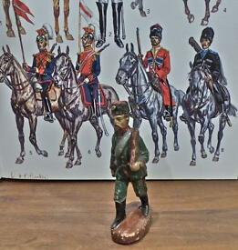 russian cossack 9 5 cm figure no base logo