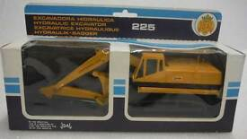 joal die cast caterpillar cat excavator 225