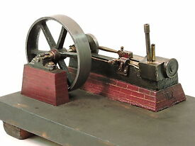 antique model steam engine dated 1903