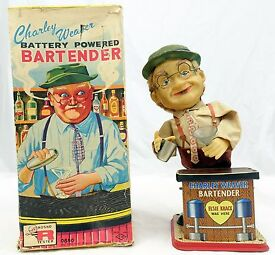 vintage charlie weaver battery operated