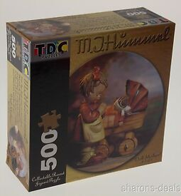 mj doll mother 500 pc collectible round