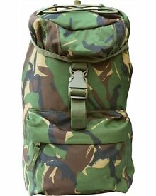 kids camouflage 10 litre mini play rucksack