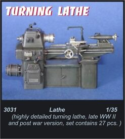 cmk 1 35 lathe resin kit 3031
