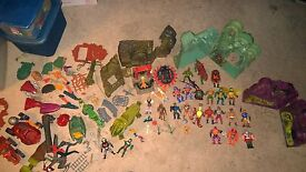 masters of the universe vintage 1980s he man