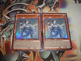 yu gi oh priestess with eyes of blue super